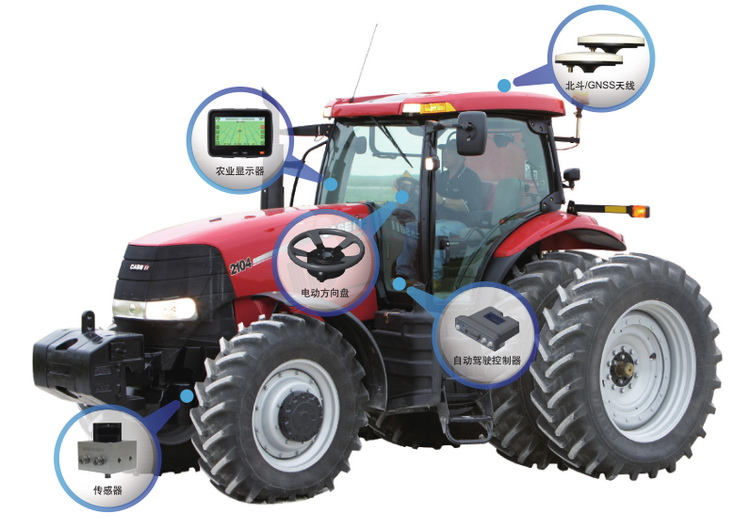 agricultural auto steering system